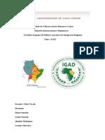 integracao regional IGAD prof odair