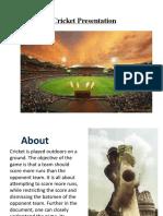 Cricket Presentation.pptx