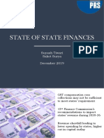 State of State Finances 2019-20