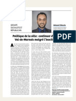 Tribunes PSCD94 - Juillet 2019-Décembre2020