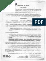 Decreto cundinamarca