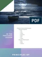 ArtApre Week 9