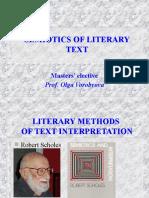 SEMIOTICS OF LITERARY TEXT (1)