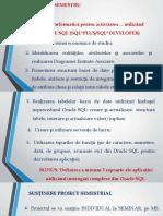 Cerinte - Proiect BDII_Oracle