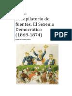 3.RECOPILATORIO DE FUENTES. EL SEXENIO DEMOCRÁTICO