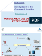 Session 1.13_Formulation_Objectifs & Taxonomies