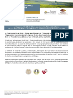 Clinique de Droit sur la codification du droit international vitivinicole avec l'OIV