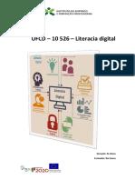 Manual UFCD - 10526 - Literacia digital