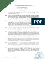 AcuerdoMinisterial