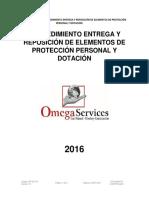 PR-007-03 Entrega y reposición de elementos de protección individual