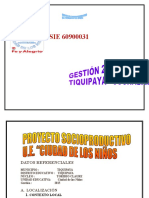PROYECTO SOCIOPRODUCTIVO 2015