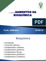 Aula 1 - Fundamentos da bioquimica
