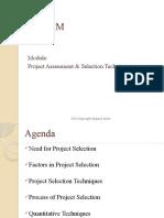 Project Selection Techniques
