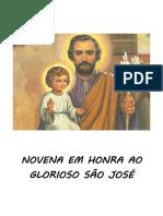 NOVENA EM HONRA A SÃO JOSÉ