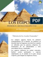 Egipcios Los Primeros Aromaterapeutas