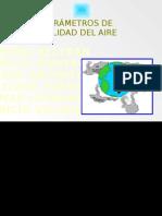 PARAMETROS DE CALIDAD  DEL AIRE