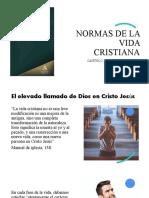 MANUAL DE IGLESIA - NORMAS DE LA VIDA CRISTIANA.pptx