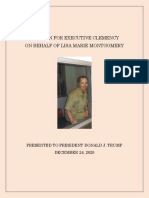 2020.12.24 Lisa Marie Montgomery Petition for Executive Clemency