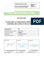 PL-OLC-001 PLAN PARA LA VIGILANCIA DE COVID-19