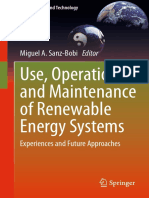 [Green Energy and Technology] Miguel A. Sanz-Bobi (eds.) - Use, Operation and Maintenance of Renewable Energy Systems_ Experiences and Future Approaches (2014, Springer International Publishing)