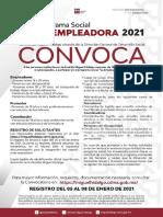Convocatoria La Empleadora 2021