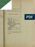 Annuário Estatístico Do Estado Do Ceará - 1917