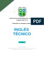 Unidad 3 INGLÉS TÉCNICO_ Profesorado en Informática a Distancia