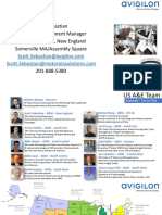 Avigilon A&E Contact info 2019