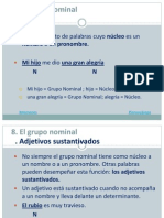 08. Grupo Nominal