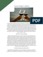 Consumo de álcool e o diabetes