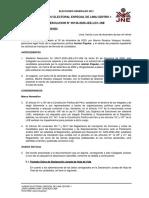 JEE admite plancha presidencial de Acción Popular