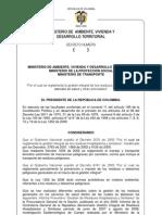proyecto decreto hospitalarios 2010