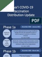 Hawaii Vaccination Plan