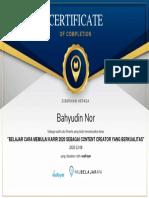 Bahyudin-Nor-BelajarCaraMemulaiKarir2020sebagaiContentCreatoryangBerkualitas-by-vosFoyer-8December2020-Completion-Certificate (1).pdf