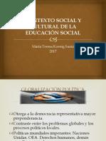 2 CONTEXTO SOCIAL Y CULTURAL DE LA EDUCACIÓN SOCIAL