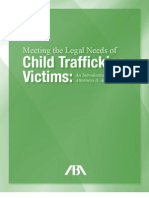 Meeting the Legal Needs of Child Trafficking Victims