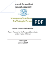 2007 Connecticut Human Trafficking Report