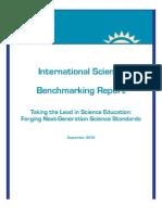 International Science Benchmarking Report