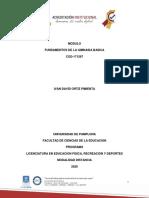 Modulo FUNDAMENTOS DE LA GIMNASIA BÁSICA