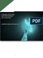 Modelo de Propuesta de Servicios de Auditoria
