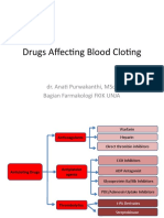 Drugs Affecting Blood Cloting 2019