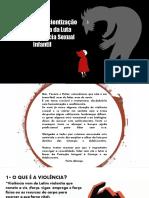 Manual de Consicentização da Luta Contra a Violência Sexual Infantil.