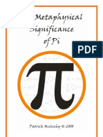 The Metaphysical Significance of Pi