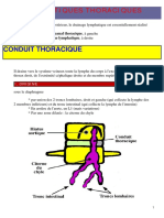 Lymphatiques Thoraciques