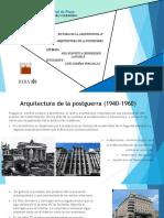 Arquitectura d ela Postguerra (1)