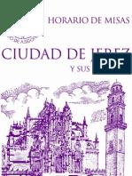 horarios misas en la diócesis de Jerez