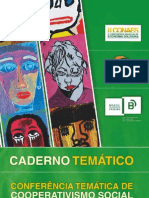 Conferência Temática de Cooperativismo Social - caderno temático (maio de 2010)