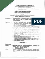 16. Sk Penetapan Personil Penandatanganan Sertifikat Kompetensi