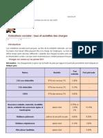 Cotisations sociales 2011