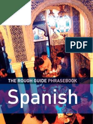 The Rough Guide Spanish Phrasebook Books Linguistics